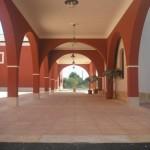Inner courtyard arcades