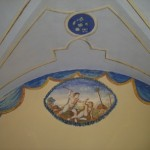 Frescoes of biblical scenes