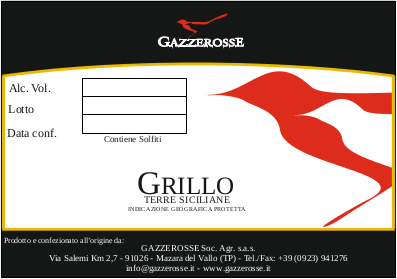 Grillo label