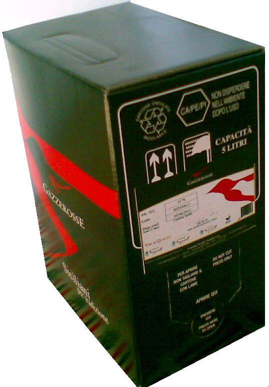 Bag-in-Box del Nero d' Avola
