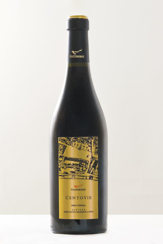 Centovie Nero d'Avola bottle
