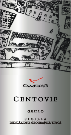 Centovie Grillo label