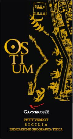 Etichetta dell' Ostium Petit Verdot