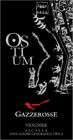 Etichetta dell' Ostium Viognier