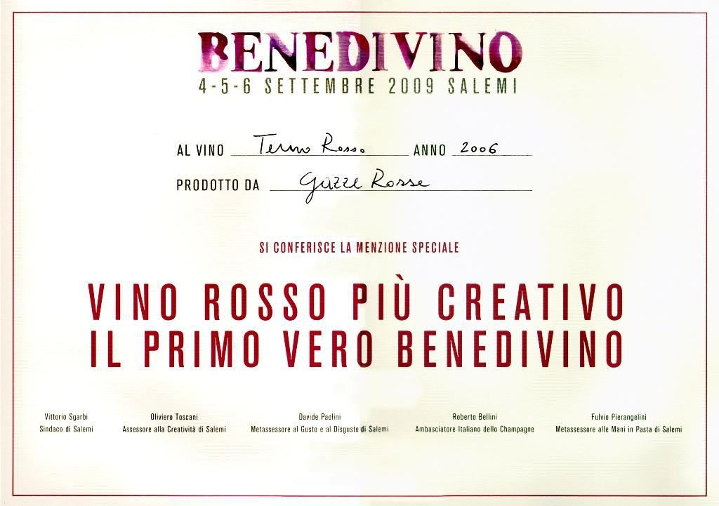 Benedivino to the Petit Verdot Syrah