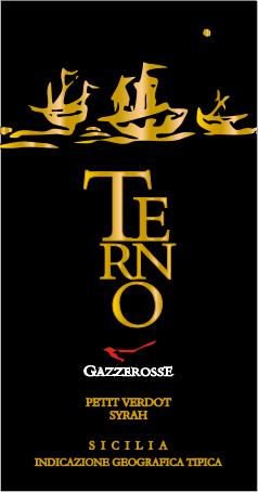 Terno Petit Verdot Syrah label
