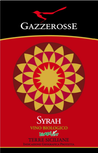 Etichetta del Syrah